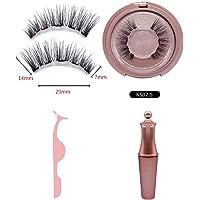 Walmeck Spot Wholesale Magnetics Eyeliner Set Eyeliner Beauty Tools 5 Magnetics False Eyelashes Five magnetics