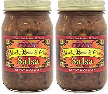 All-Natural Black Bean and Corn Salsa by Dennis Gourmet | This Fresh,