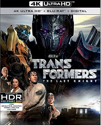 4K Blu-ray : Transformers: The Last Knight (With Blu-Ray, 4K Mastering, Digitally Mastered in HD, Dubbed, )