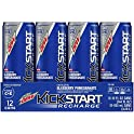 12-Pk. Mountain Dew Kickstart Recharge, 12 oz Cans