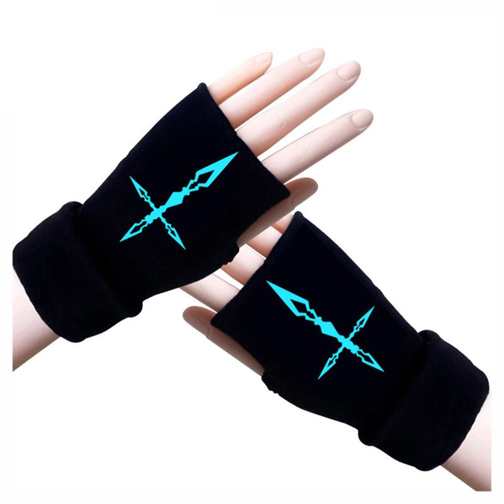Gumstyle Fate Stay Night Fate Zero Fingerless Gloves Cosplay Arm Warmers Luminous 5