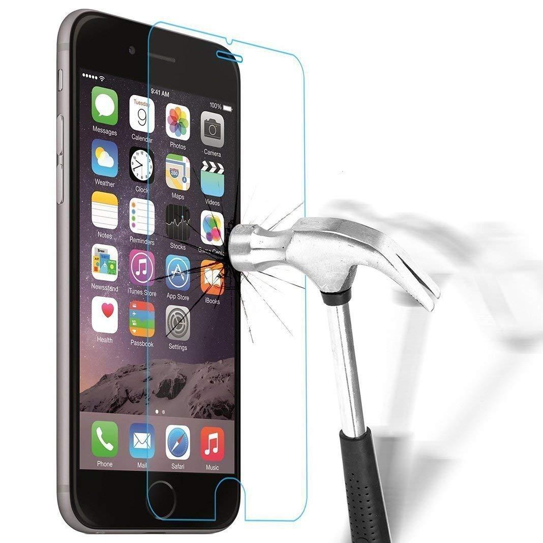cbac854a18 High Grade Vetro Temperato iPhone 6 / 6S, Pellicola Protettiva in Vetro  Temperato Screen Protector Film Ultra Resistente (0,33mm HD Alta  Trasparente) ...