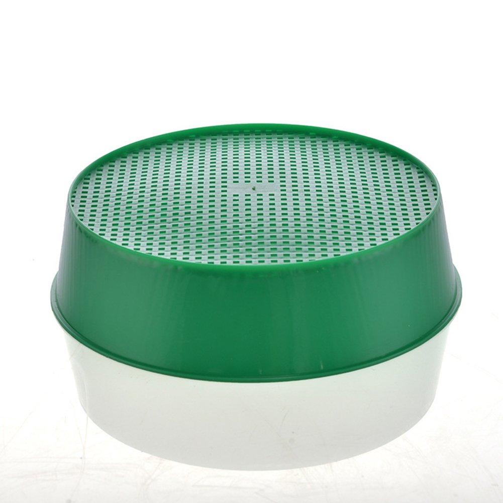 Colador de jard/ín de pl/ástico para jard/ín color verde