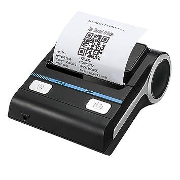 WSMLA Impresora térmica de Recibos de 80 mm, Mini Impresora ...