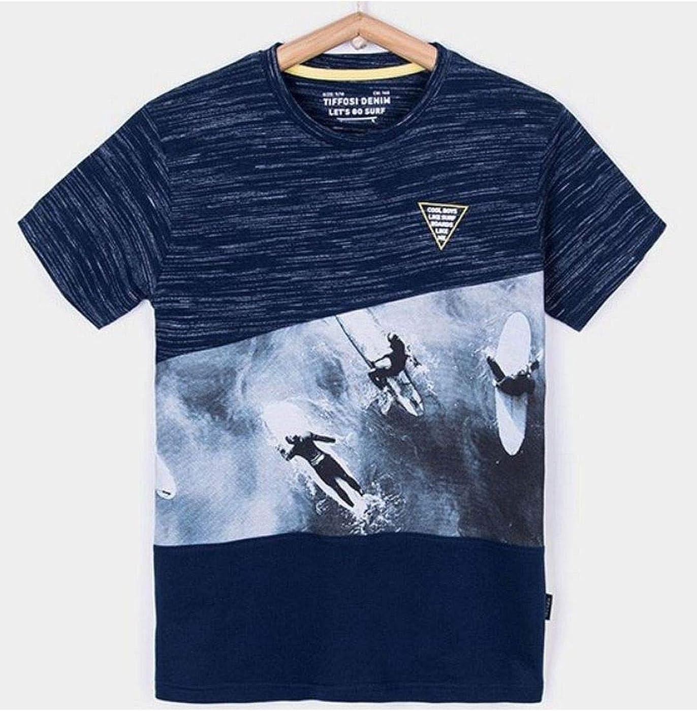 Tiffosi Camiseta Niño Marino SURFISTAS Titan: Amazon.es: Ropa y accesorios