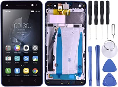 LCD Screen Screen Replacement Touch Display LCD Digitizer Assembly With Front Facing Camera Proximity Sensor, for Lenovo Vibe S1 Lite S1LA40 (Color : Black)