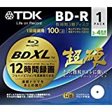 TDK Blu-Ray Disc - BDXL BD-R XL 100GB 4x Speed 1 Pack Printable - Tripple Layer