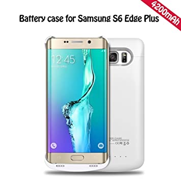 YFisk Externos 4200mah batería Funda Cargador Para Samsung Galaxy ...