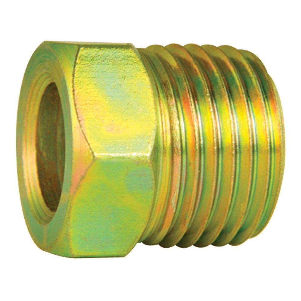 Steel Tube Nuts - 3/8' Line - SAE 5/8' X 18 thread - Inverted Flare - Pack of 10 4LifetimeLinesTM