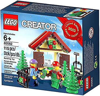 Amazon.com: Lego Creator Tree Stand 2013 Limited Edition Holiday Set ...