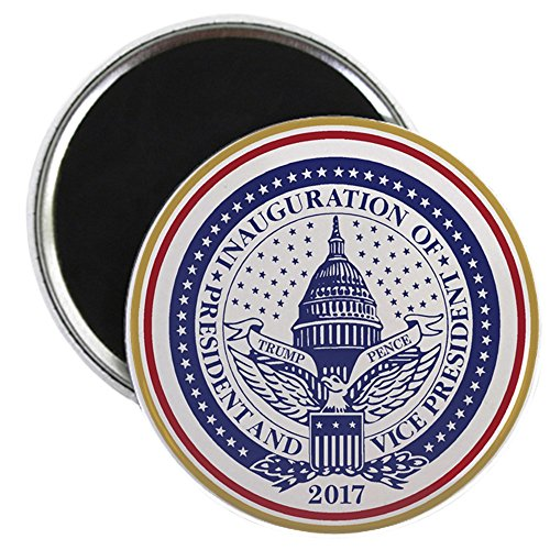 "CafePress - Inauguration Day 2017 Magnets - 2.25"" Round Magnet, Refrigerator Magnet, Button Magnet Style"