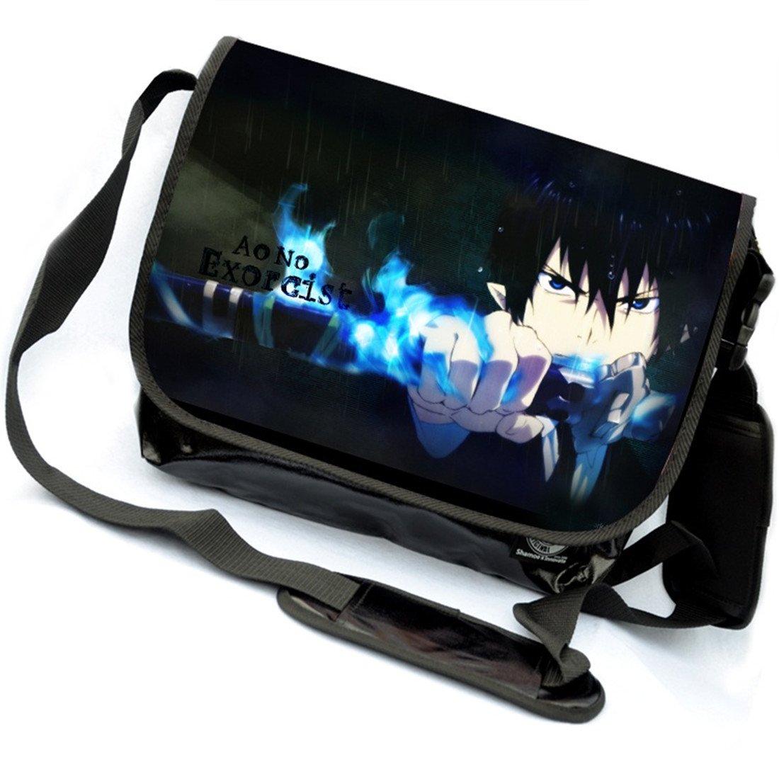 YOYOSHome Blue Exorcist Anime Cosplay Backpack Messenger Bag Crossbody Shoulder Bag