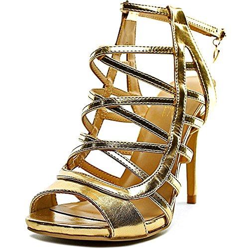 Thalia Sodi Clarisa Mujer US 6.5 Oro Sandalia