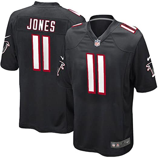 5e0cd905a Image Unavailable. Image not available for. Color: Nike Julio Jones Atlanta  Falcons Black Alternate Game Jersey ...