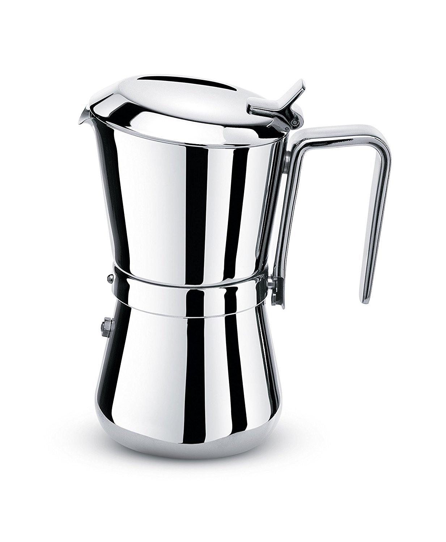 Giannini 3006010 Espressokocher, silber