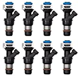 ADP 8 pcs Fuel injectors 17113698 4 Holes for