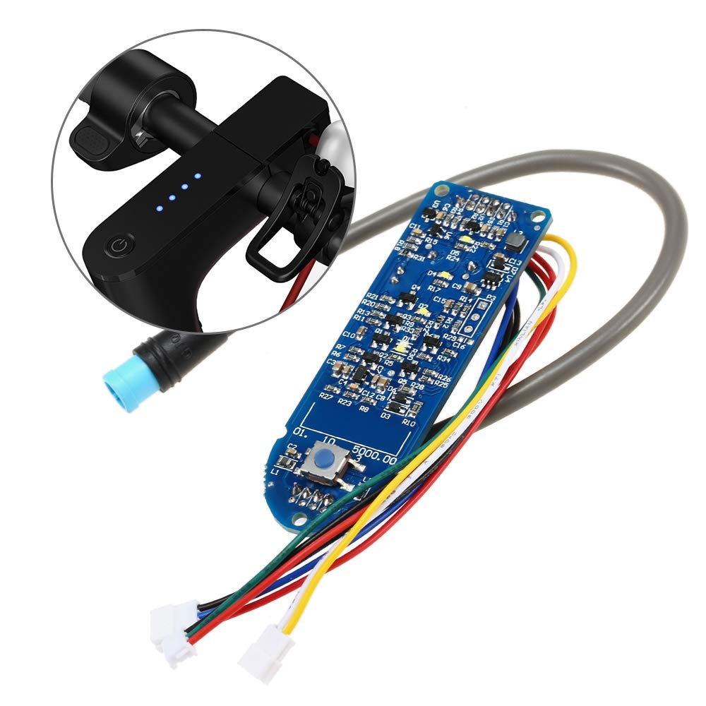 Godyluck Scooter Dashboard Set Circuit Board Motherboard Compatible for M365 Electric Scooter