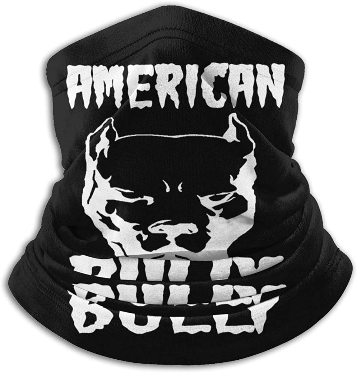 American Bully Unisex Bandana Face Mask Warmer Neck Tube for Dust Wind Sun Protection