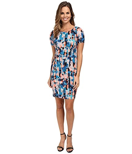 NYDJ Women's Abby Vivid Pillar Shift Dress
