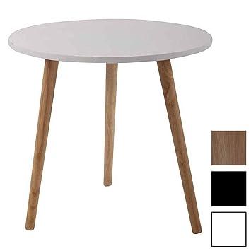 Tavolini In Legno Da Salotto.Clp Tavolino Rotondo Da Salotto Kolding In Legno Tavolo Soggiorno