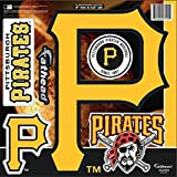 FATHEAD MLB Pittsburgh Pirates Logo Decal, Yellow