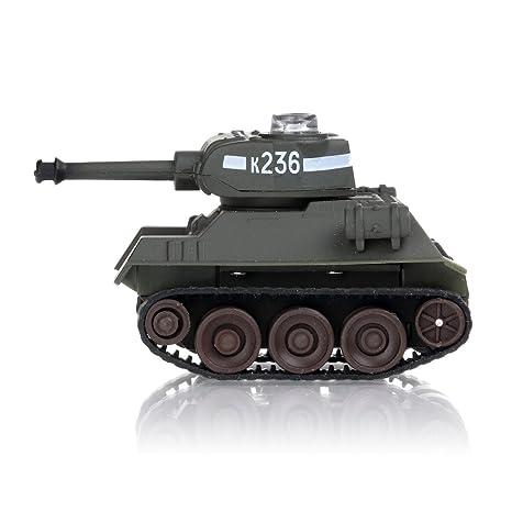 Miniature Infra-Red Control Interactive Russian T34 Battle Tank