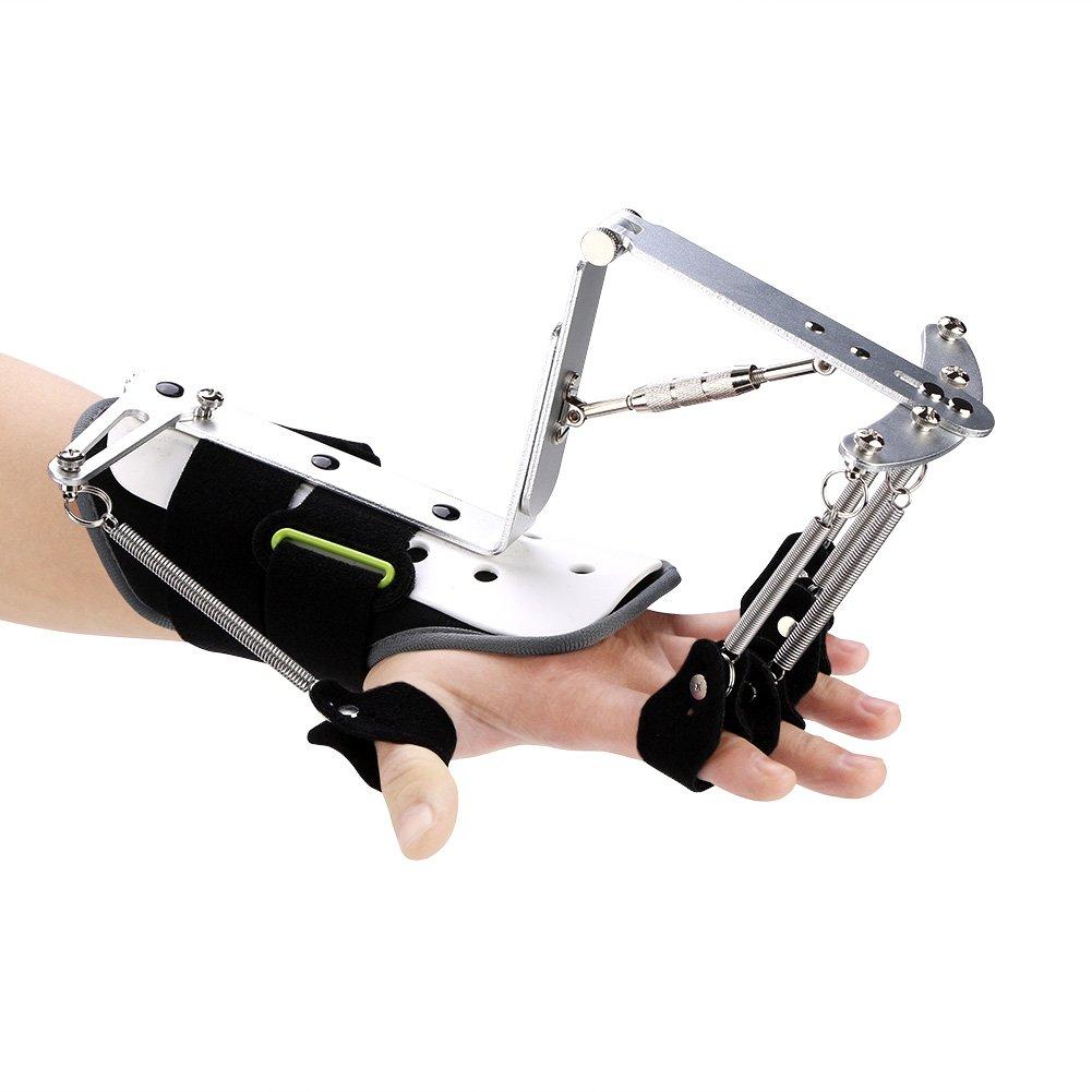 Qiterr Finger Training Brace, Adjustable Wrist Orthotics Rehabilitation Trainer Tendon Exercise by Qiterr