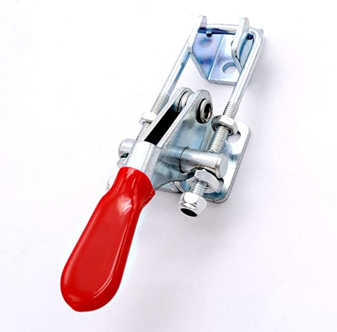 Stainless Steel Adjustable Pull Toggle Latch Lever Bolt Locking Clasp Clamp HN