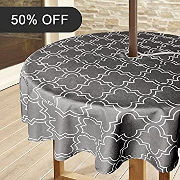 Amazon Com Polyester Gingham Umbrella Table Cloth Umbrd