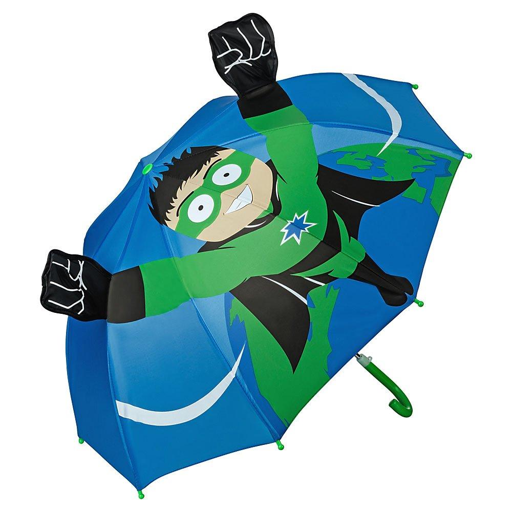 VON LILIENFELD Regenschirm Kind Kinderschirm Junge Mädchen Motiv Superheld Hero (bis ca. 8 Jahre)