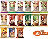 Amano Foods Freeze-dried Miso Soup Deluxe 15items 30pcs Food Sets
