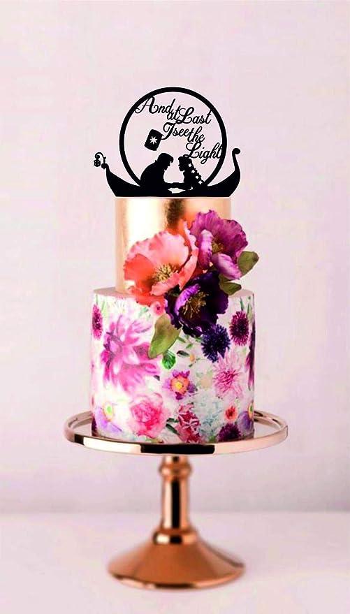 Rummy Prince and Rapunzel 833464 - Decoración para tarta con ...