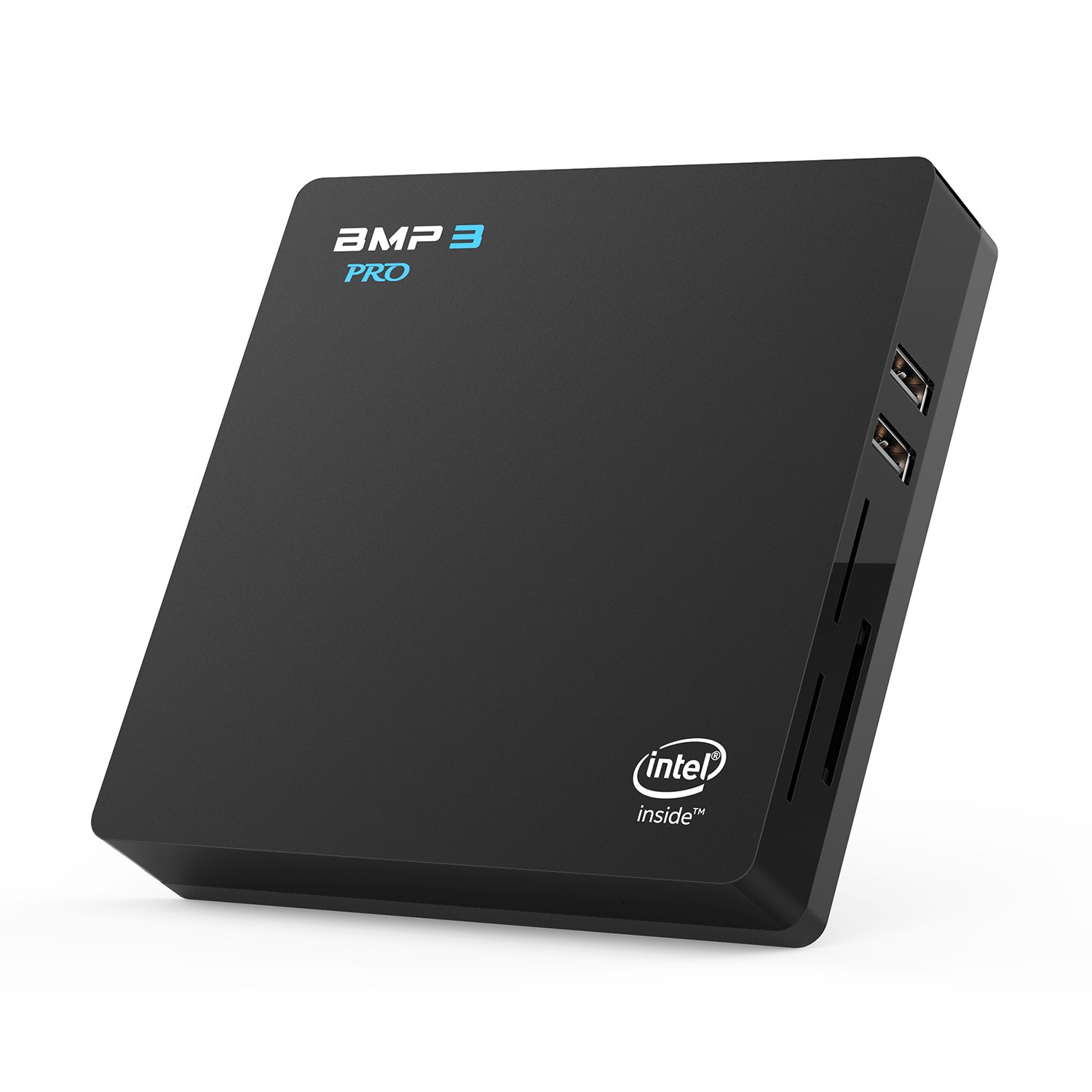 Bqeel BMP3 Pro Mini PC soporta Windows 10 Home / Procesador Intel Atom x5-Z8350 / 4 GB DDR3 + 32 GB eMMC / Intel HD Graphics / 4K / 1000 Mbps LAN / Dual-Band WiFi con Bluetooth 4.0 / USB 3.0 / USB 2.0