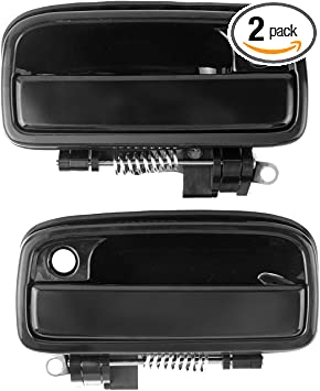 Amazon Com Exterior Outside Door Handle Replacement For Toyota Tacoma 1995 1996 1997 1998 1999 2000 2001 2002 2003 2004 2pcs Front Driver Passenger Side Replacement 6922035020 6921035020 Automotive