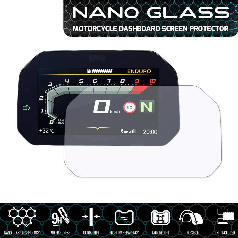 Speedo Angels Nano Glass Protecteur d'é cran pour R 1250 GS (2018+) Speedo-Angels 13.99