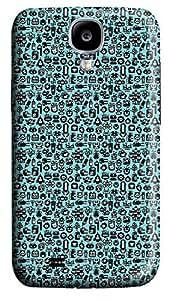 Samsung S4 Case Blue Cartoon Animal 3D Custom Samsung S4 Case Cover