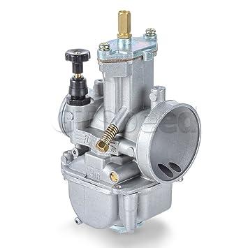 611CvLDPBkL._SY355_ amazon com gtspeed oko pwk 19mm flat slide carburetor kit