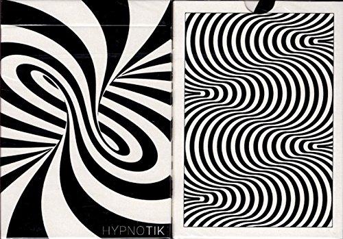 DOSE Prod HYPNOTIX Playing Cards Poker Size Deck Cartamundi Custom Limited Edition (Illusions Optical Card Playing)