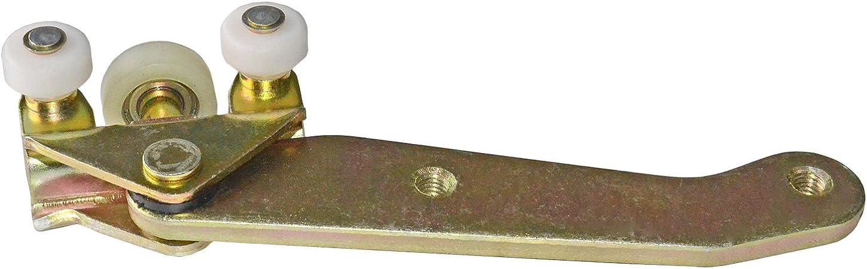 Puerta corredera inferior rodillo guÃa L/H 701843405b A506: Amazon ...