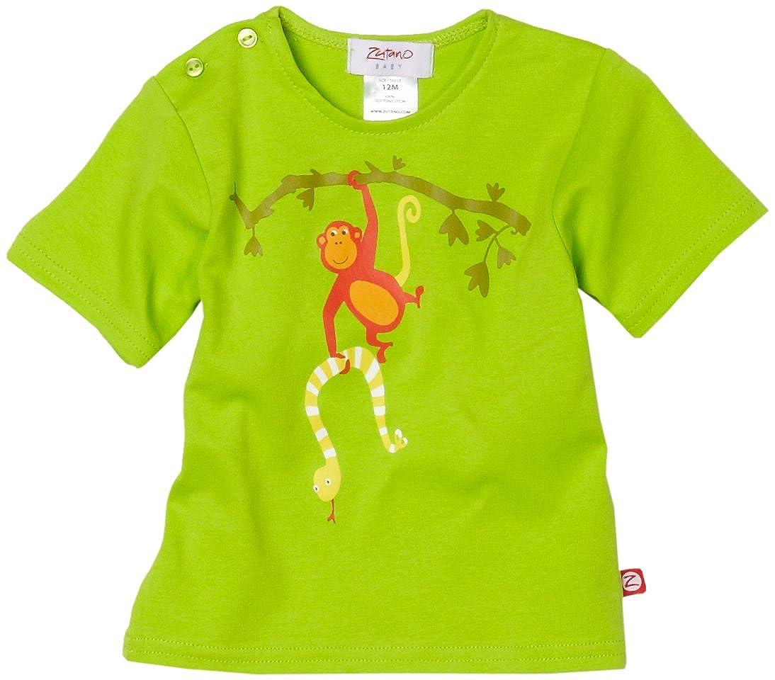 ZUTANO Monkey Swing Short Sleeve Screen T Shirt