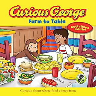 Book Cover: Curious George Farm to Table