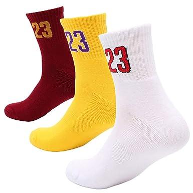 KONLOO - Calcetines de baloncesto digitales para hombre, 23 ...