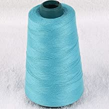 5pc 3000yard/cone Large Cones Cotton Thread Quilting Serger I0066 (Montana Blue)