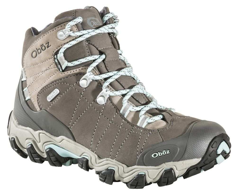 Oboz Bridger Mid B-Dry Hiking Boots - Women's Cool Gray 7.5