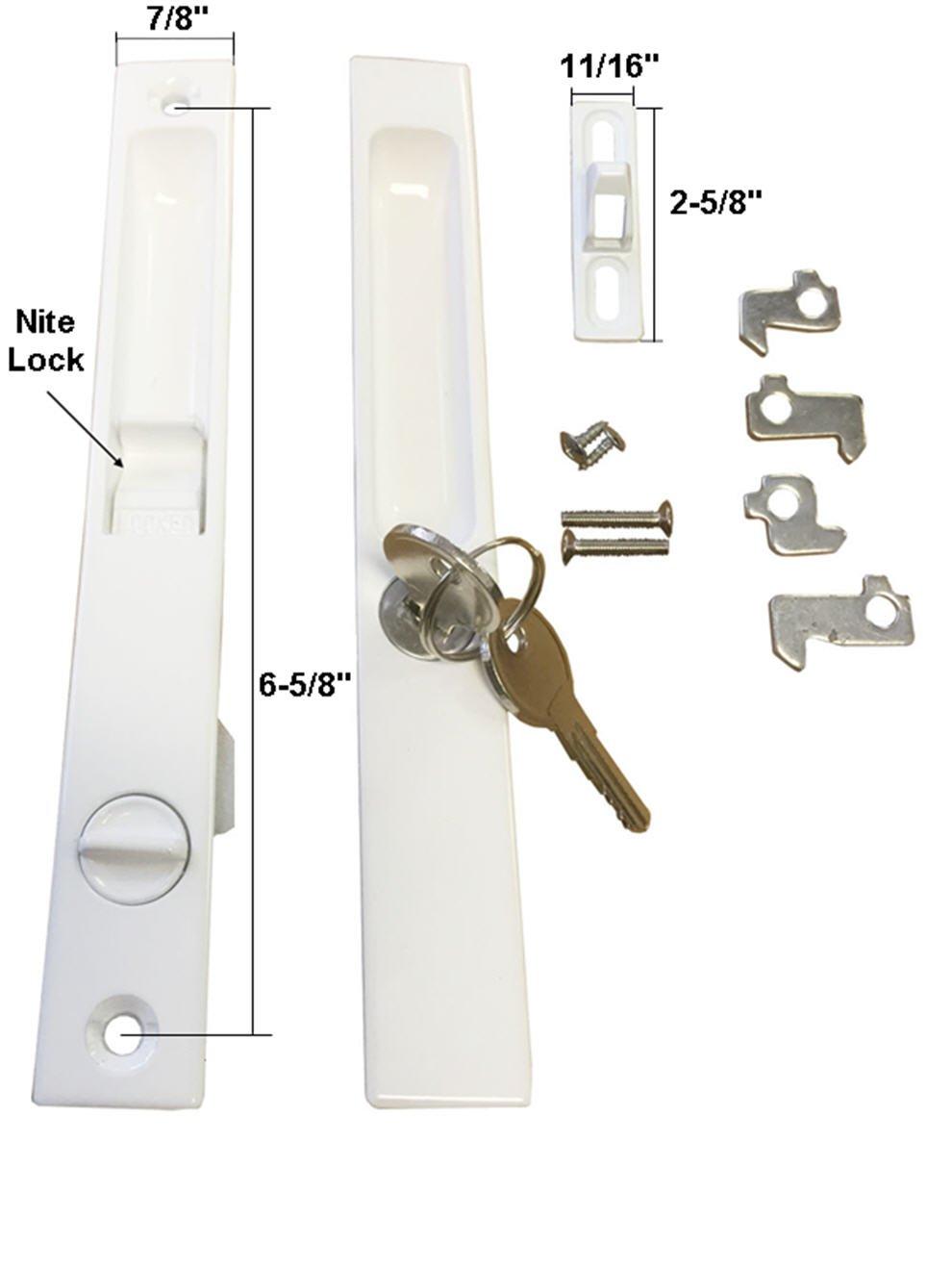 Nite Lock Sliding Glass Door Womenofpowerfo