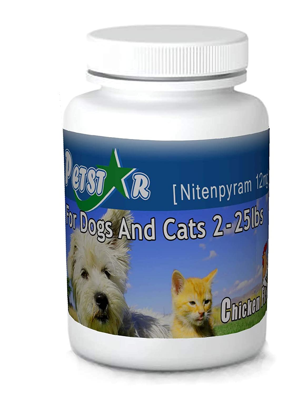 12ct Nitenpyram 11.4 mg for Cats & Dogs 2-25 lbs