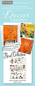"PRIMA MARKETING INC Redesign Transfer COL, Floral Collection 22""X32"""