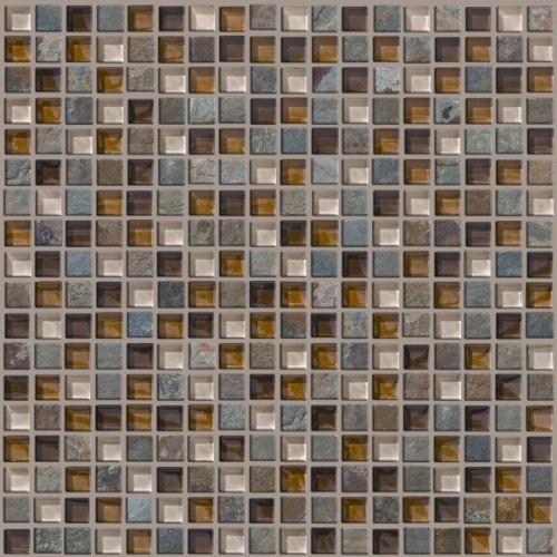 CoverQuik SFS041515 5//8-Inch by 5//8-Inch Glass Mosaic