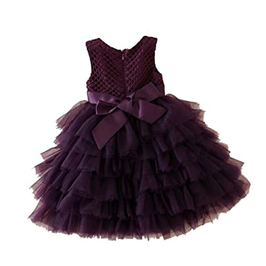 Little Colours Baby Girl Cute layered frock Kids Toddler Skirt Tutu ...