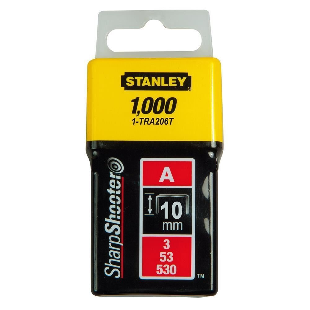 Set of 1000 Pieces Silver Stanley 1-TRA209T Type A Staples 14 mm